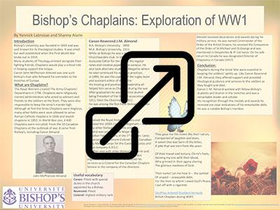 Bishop's Chaplains: Exploration of WW1
