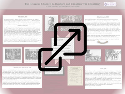 The Reverend Channell G. Hepburn and Canadian War Chaplaincy