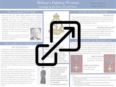 Bishop's Fighting Woman - Nursing in the First World War