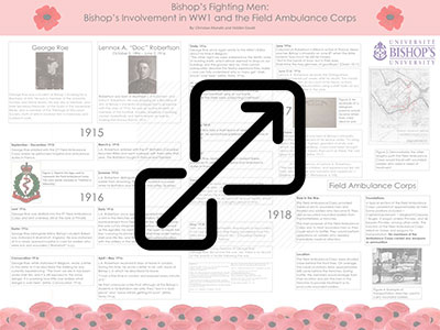 Bishop's Involvement in WW1 and the Field Ambulance Corps