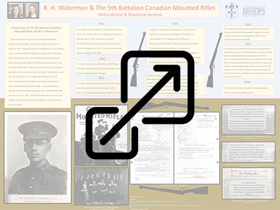 R. H. Waterman & The 5th Battalion Canadian Mounted Rifles
