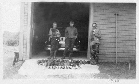 Brian Freeman Lynn duck hunting
